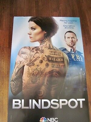 NBC Blindspot TV Series Poster Jaimie Tarbush