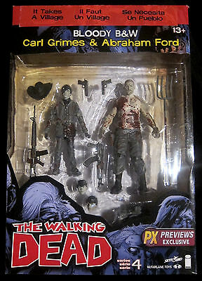 THE WALKING DEAD Carl Grimes & Abraham Ford -Limited Figure Set - McFarlane Toys