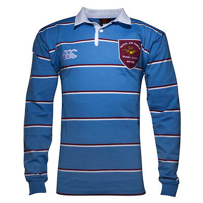 Canterbury RAF Heritage 1920 Long Sleeve Rugby Jersey Blue