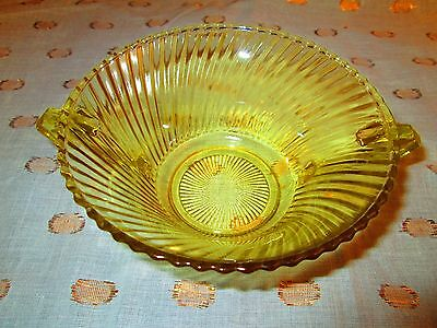 Two Depression Glass Bowls Diana Pattern