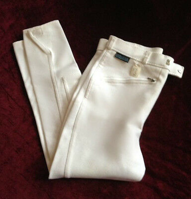 Mens Lavenham White Competition Breeches Size 34R