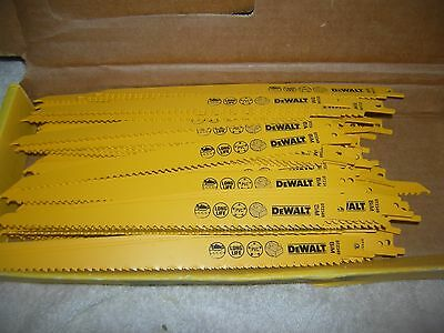 dewalt elu 228mm x100 recip wood saw blades dw938 dw008 dc380 dc305 dc385 dcs380