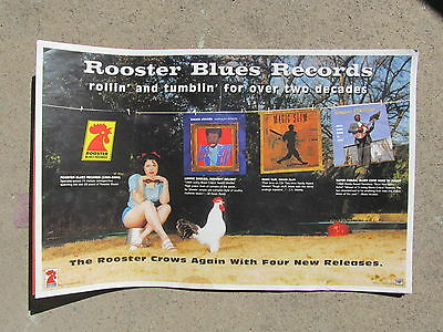 Blues Promo Poster: Rooster Blues Records - Rollin' & Tumblin'…