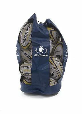 Centurion Nero Trainer Rugby Ball Pack - Yellow, Size 4, coaches, schools, club