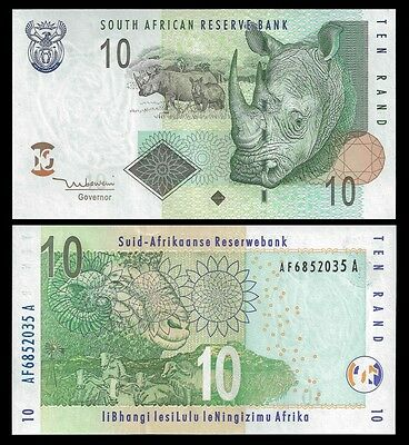 South Africa 10 RAND Mboweni 2005 P 128a UNC OFFER !