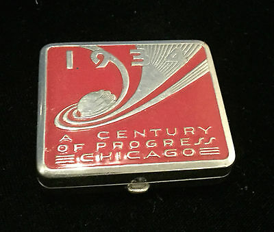 Vintage Compact 1934 Chicago Worlds Fair - A Century of Progress