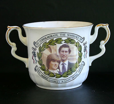Vintage Loving Cup to Commemorate the Wedding of Prince Charles & Lady Diana