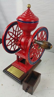 Antique Cast Iron Coffee Grinder The Swift Mill #12 Lane Brothers Patent 1875
