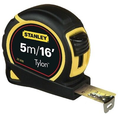 Stanley 5M Tape Measure Stanley Metric/Imperial Tape Length: 5m (16ft) x Width