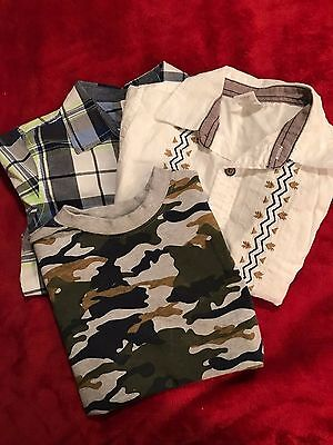 Gymboree Boys 3- Shirt Bundle Size 5T