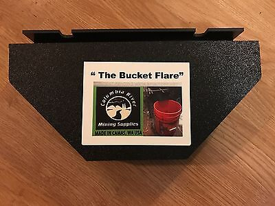 """The Bucket Flare"" Is An Exact Fit To The Gold Cube Stand"