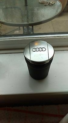 Genuine AUDI Cup Holder Ashtray Coin Box Storage Cup