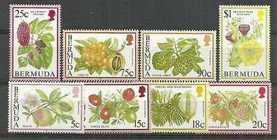 BERMUDA STAMPS #668a-680a SET OF 9 (MNH) FROM 1994-95.