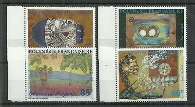 France Polynesia Stamps #723-726 Set Of 4  (Mnh) From 19.
