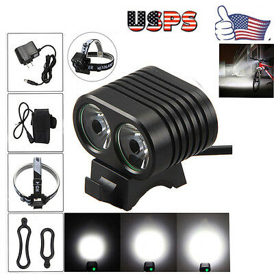 34000 Lm 14x T6 LED 3 Mode Bicycle Bike Lamp Cycling Front Torch Headlight