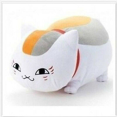 "New & 13"" Natsume Yuujinchou Nyanko Sensei Cat Plush Doll Pillow Free Shipping"