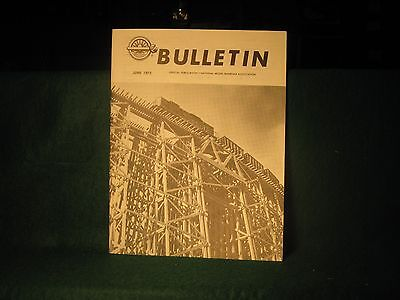 NMRA Bulletin June 75 Clinchfield Roster Map & Photos Periodic Index