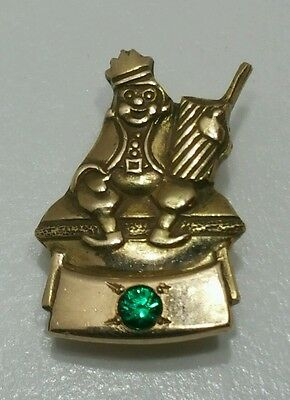 1950's Burger King Restaurant  14K Gold Employee Years Of Service Award Pin