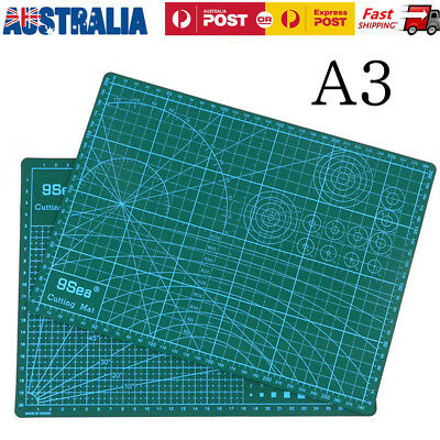 A3Size Self Healing Cutting Mat Cut Broad PVC Patchwork Knife Pad Craft Quilting