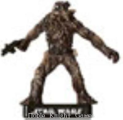 WOTC Star Wars Minis Alliance & Empire Wookiee Freedom Fighter NM