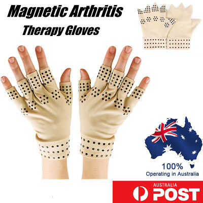 Arthritis Gloves Compression Support Hand Wrist Pain Relief Heal Joint Therapy