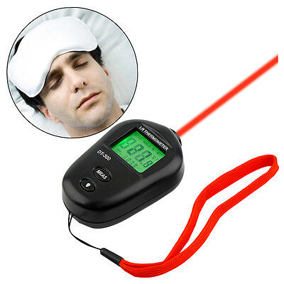 Mini Digital Non-Contact IR Infrared LCD Thermometer DT-300 Black UD6 R&