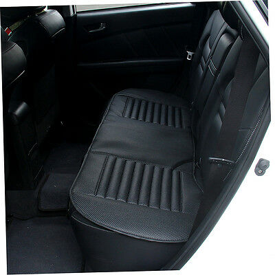 Universal PU Long Rear Seat Cushion Interior Covers Mat For Car Office Chair F&