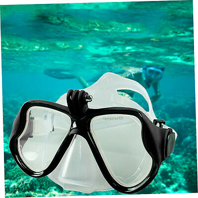 Underwater Camera Plain Diving Mask Scuba Snorkel Swimming Goggles for GoPro R&