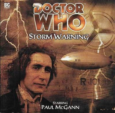 Doctor Who - STORM WARNING - Full Cast CD Audio Drama - Paul McGann