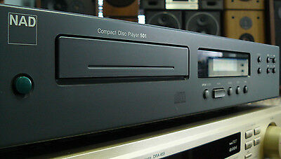 Nad 501 Compact Cd Disc  Player