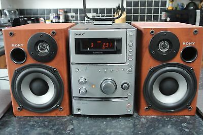 Sony CMT-CPX11 Audio Shelf Micro System CD TAPE & TUNER