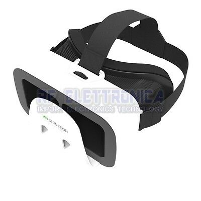 VR Shinecon Octopus Style Virtual Reality Head Mount Helmet 3D Glasses  for 4.7-