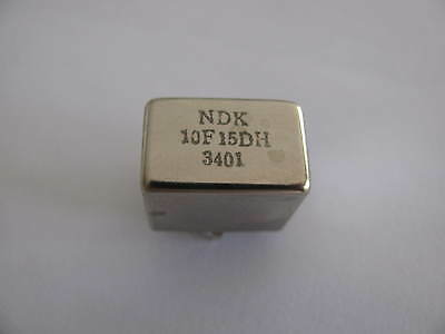 *10.7MHz (10F15DH) NDK CRYSTAL FILTER* *USED* *TESTED*!!