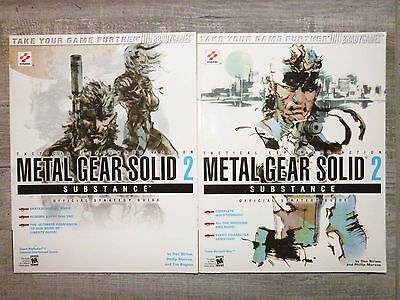 Guide officiel official Metal Gear Solid 2 Substance US - XBOX & PS2 Bradygames