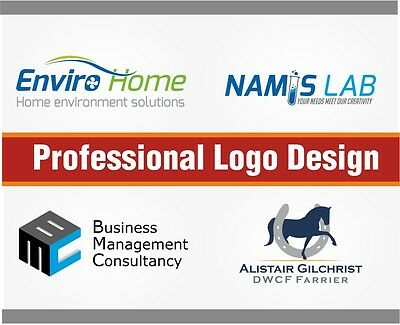 Professional Bespoke Custom Made Logo Design - Unlimited Revisions 24HR