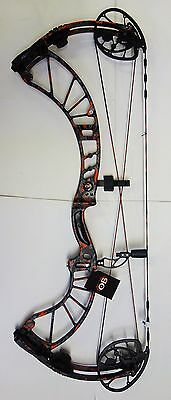 "2017 OBSESSION DEF CON M6Z  30"" DRAW, 70-80 lb, RH LAST LEAF REDEMPTION PATTERN!"