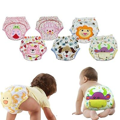 For Pee Potty Animal Design Infant Panties Baby Diapers Baby Underwear Nappy