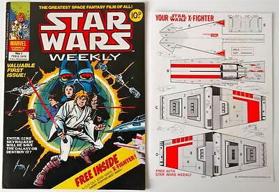 STAR WARS WEEKLY #1 No.1 FEB 8 1978 Marvel Comic With FREE GIFT*