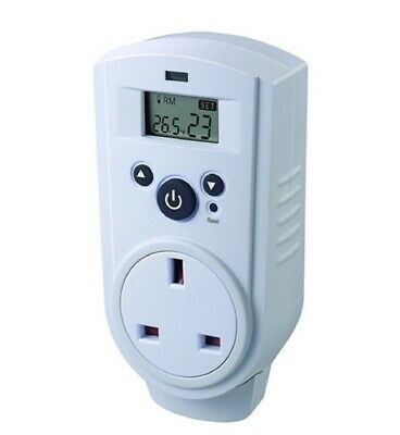 Thermostat - Plug in ThermoGuard Digital Control TH-928T Greenhouse Garage Shed