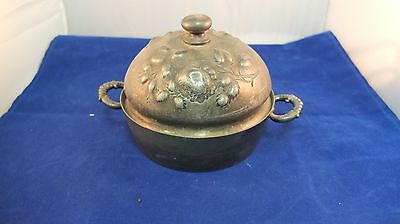 Butter Dish Domed Pairpoint Mfg Co 545 Quadruple Plate Antique Silver Plate