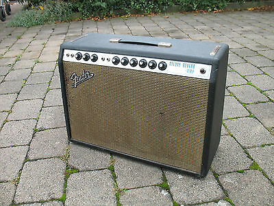 1969 Fender Deluxe Reverb Silverface
