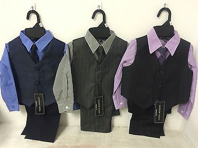 New Baby Boy's Dress Suits Size 24 Months 4 Piece Easter Outfit Clothes Wedding