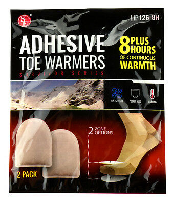 8 Hour Adhesive Toe Warmer for & Warm Body Hunting Camping Hiking