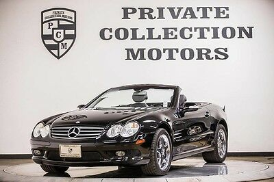 2003 Mercedes-Benz SL-Class  2003 Mercedes-Benz SL500 Mercedes Benz Low Miles Carfax Certified