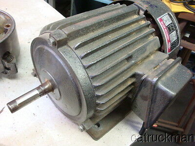 Imported 3/4 HP, 120V Single phase, 3450  RPM, TEFC Electric Motor