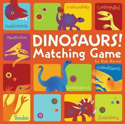 Dinosaurs! Matching Game,  | Misc. Supplies Book | 9780811869805 | NEW