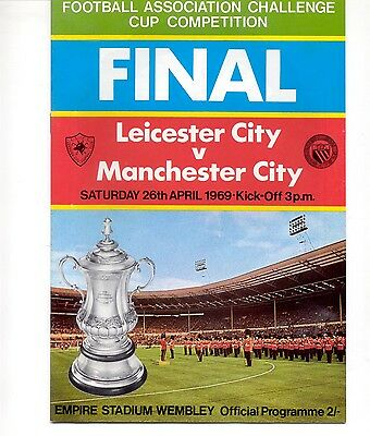 Leicester City v Manchester City 1969 FA Cup Final