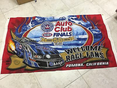 NHRA Auto Club Finals Event Logo 2014 POMONA 3x5 Flag NIP