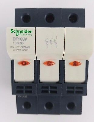 Fuse Holder Fuse Mount Quantity (4) 32A Schneider Electric DF 103V DF103V 10x38