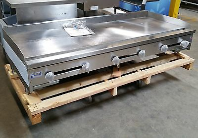 "NEW 72"" Griddle Flat Top Grill Stratus 1"" Plate #2897 Commercial Plancha NSF Hot"